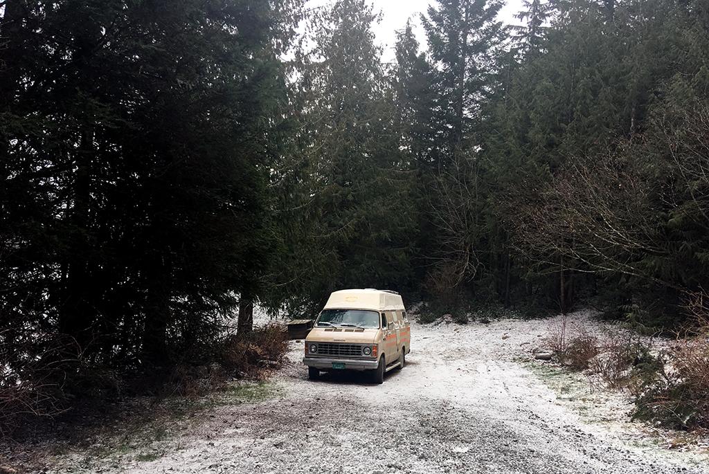 Generic-Van-Life-Camping-Spot-Mohun-Lake-British-Columbia-Campsite