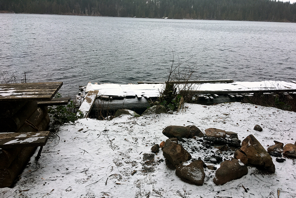 Generic-Van-Life-Camping-Spot-Mohun-Lake-British-Columbia-Firepit