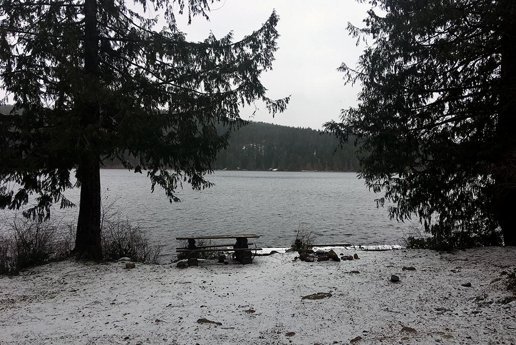 Generic-Van-Life-Camping-Spot-Mohun-Lake-British-Columbia-Table