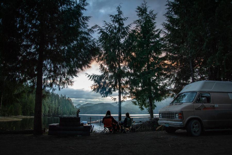 Generic-Van-Life-Camping-Spot-Cougar-Creek-British-Columbia-Campfire