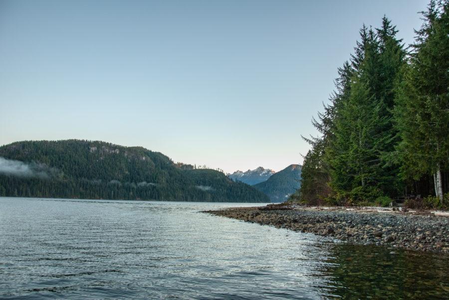 Generic-Van-Life-Camping-Spot-Cougar-Creek-British-Columbia-Shore