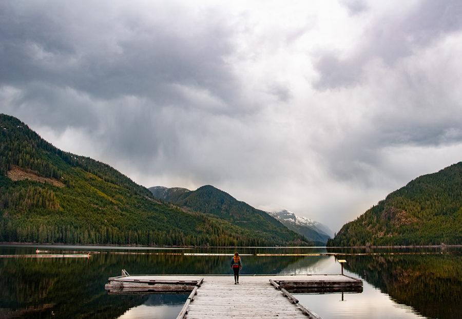 Generic-Van-Life-Camping-Spot-Muchalat-Lake-British-Columbia-Dock