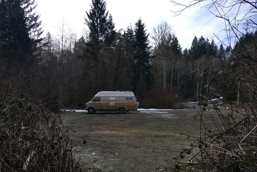 Generic-Van-Life-Camping-Spot-Quinsam-River-British-Columbia-Trail