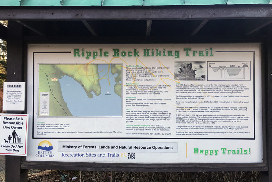 Generic-Van-Life-Camping-Spot-Ripple-Rock-Trailhead-British-Columbia-Map