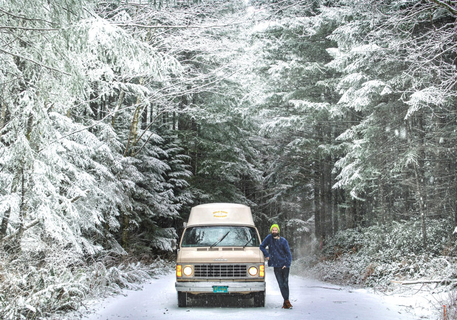 Generic Van Life - Winterization Tips for Vanlife Part II - Justin with Van