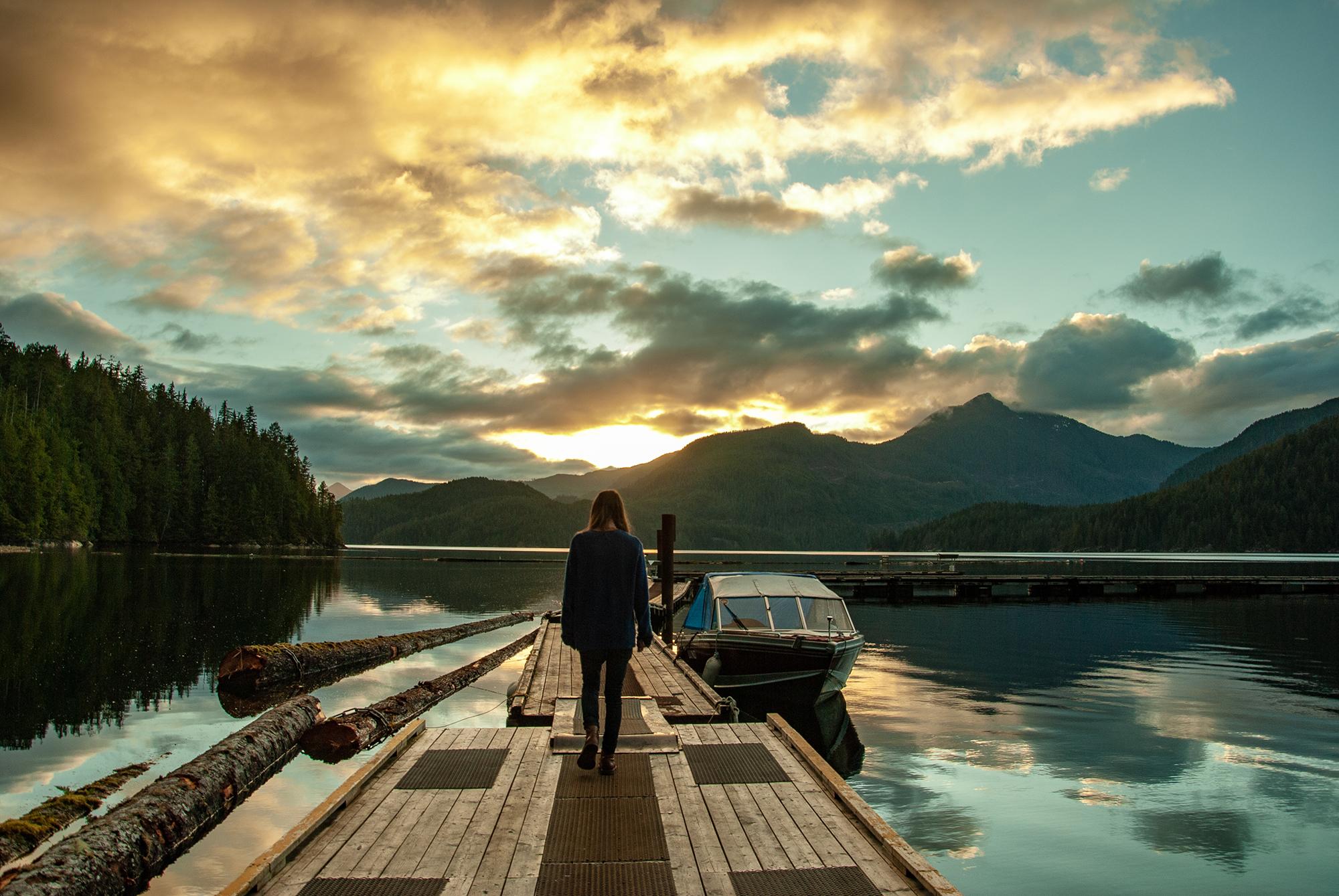 Generic Van Life - The Ultimate Vancouver Island Road Trip - Cougar Creek