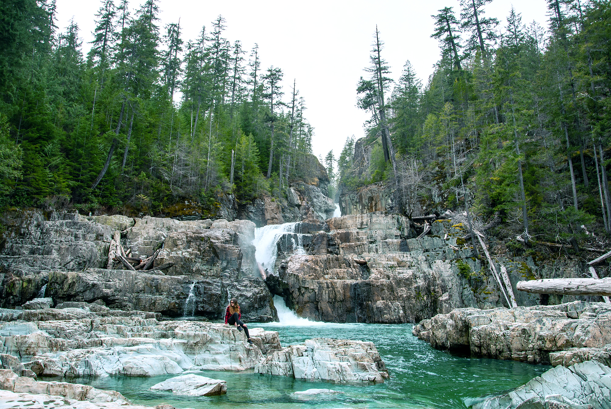 Generic Van Life - The Ultimate Vancouver Island Road Trip - Strathcona Park Lower Myra Falls