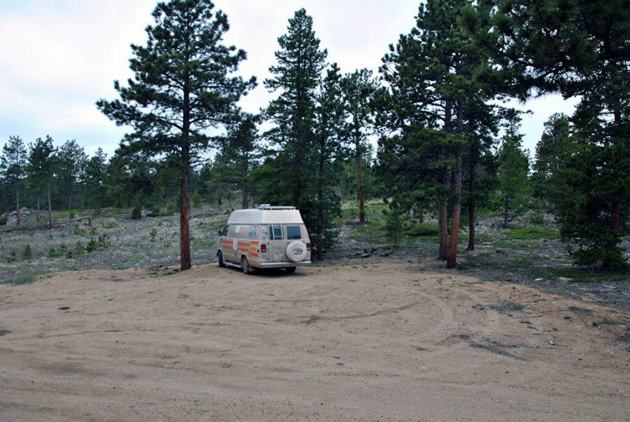 Generic-Van-Life-Camping-Spot-Gold-Lake-Colorado-Site