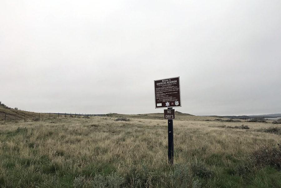 Generic-Van-Life-Camping-Spot-Grayrocks-Reservoir-Wyoming-ORV