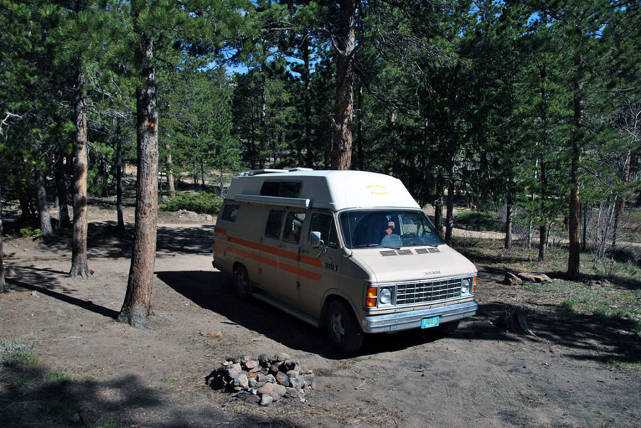 Generic-Van-Life-Camping-Spot-Johnny-Park-Road-Colorado-Van