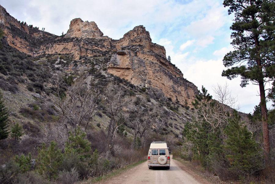 Generic-Van-Life-Camping-Spot-Tongue-River-Canyon-Wyoming-Canyon