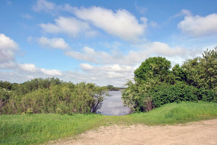 Generic-Van-Life-Camping-Spot-Elk-Creek-Marsh-Iowa-Water