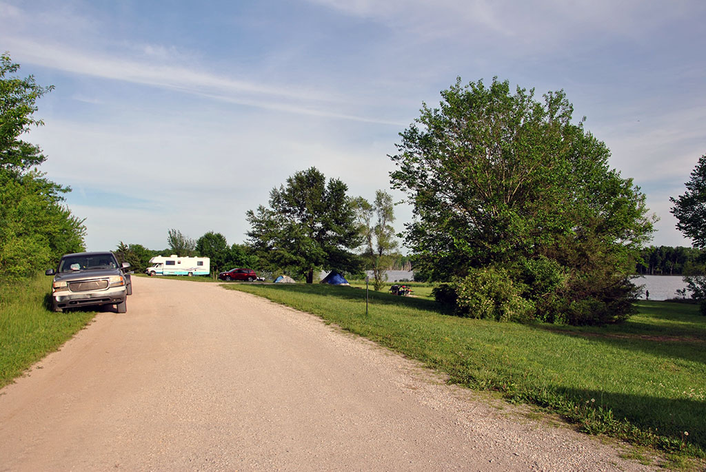 Generic Van Life - Welcome to Corn Tornado Country - Louisburg Campground