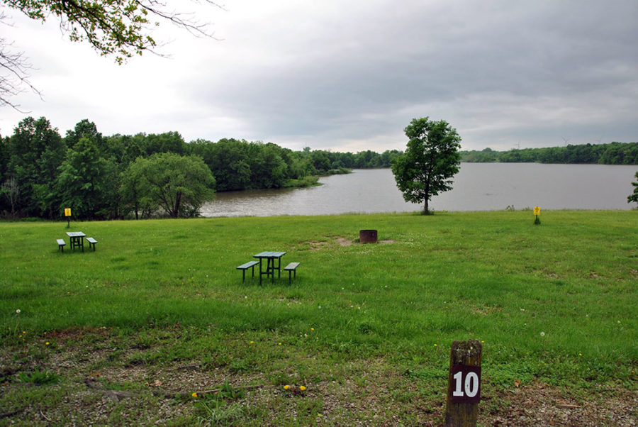 Generic-Van-Life-Camping-Spot-Pony-Express-Lake-Missouri-Campsite