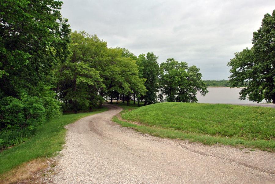 Generic-Van-Life-Camping-Spot-Pony-Express-Lake-Missouri-Fishing