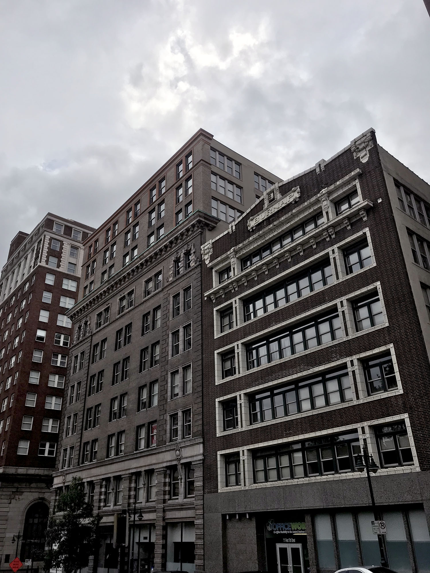 Generic Van Life - Welcome to Corn Tornado Country - Kansas City Buildings