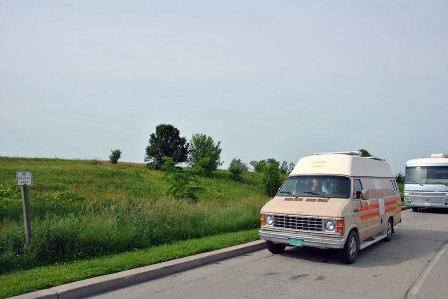 Generic-Van-Life-Camping-Spot-Beloit-Rest-Area-Wisconsin-Van