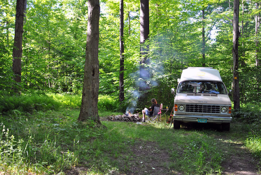 Generic-Van-Life-Camping-Spot-Stockton-State-Forest-New-York-Campsite