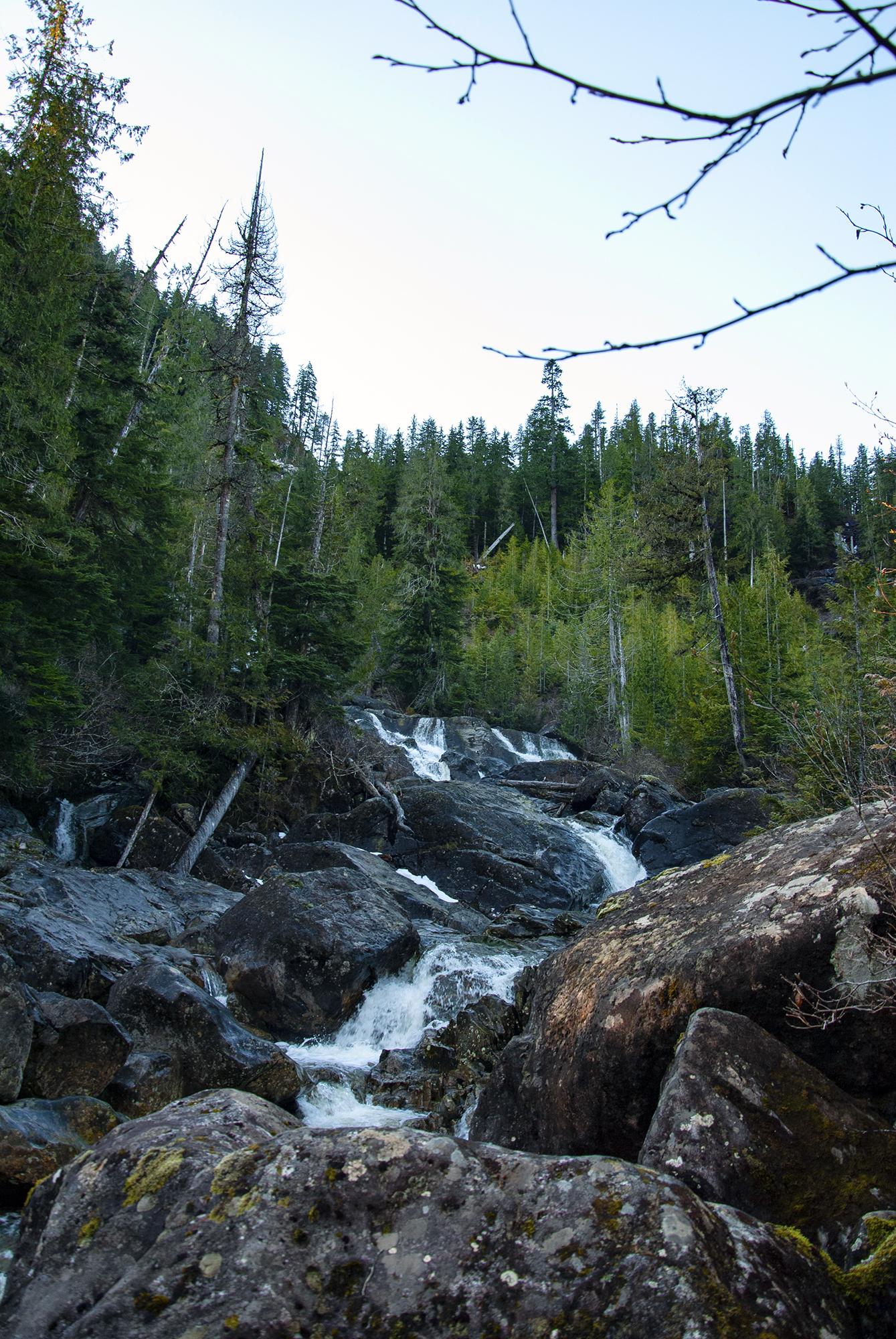 Generic Van Life - The Ultimate Vancouver Island Road Trip - Cala Falls